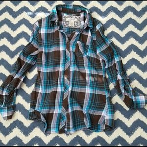 Beautiful Flannel Button Down